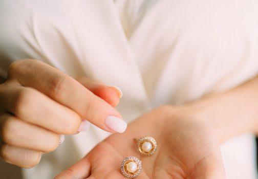 Perlesmykker til bruden